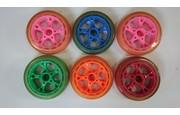 Koło PU 8 cali różne kolory