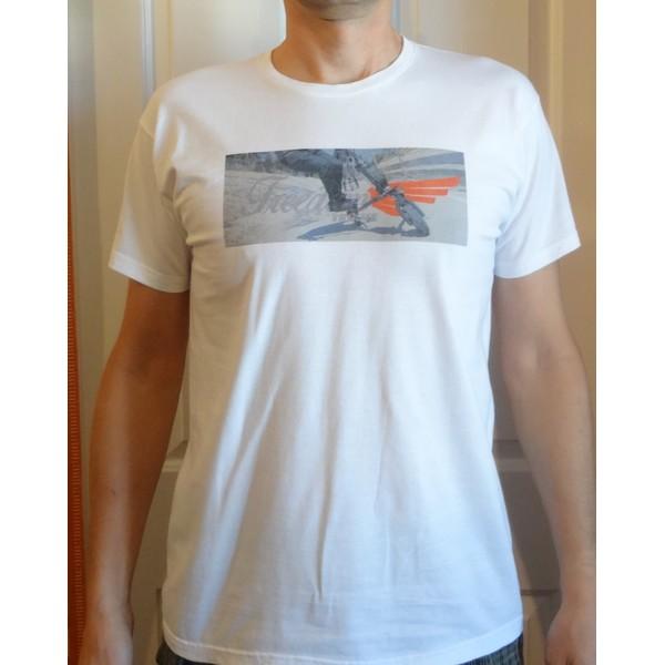 T-shirt Trikke FREEDOM - biały
