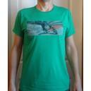 T-shirt Trikke FREEDOM - zielony