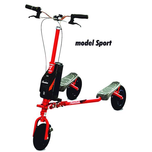 FREEDOM Sport Trikke EV czerwony